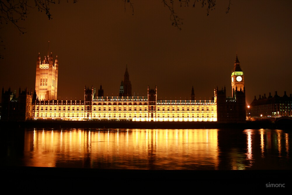 Houses of Parliament by simonc