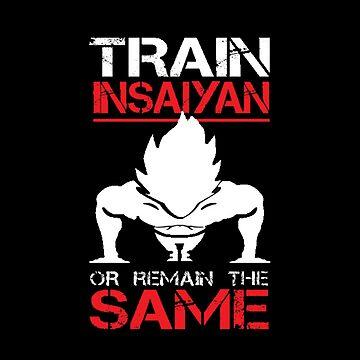 Train INsaiyan by boyinkus