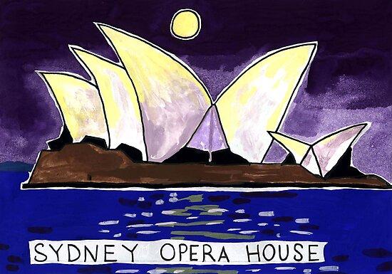 Sydney Opera House Night by John Douglas