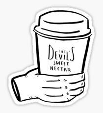 the devil's sweet nectar Sticker