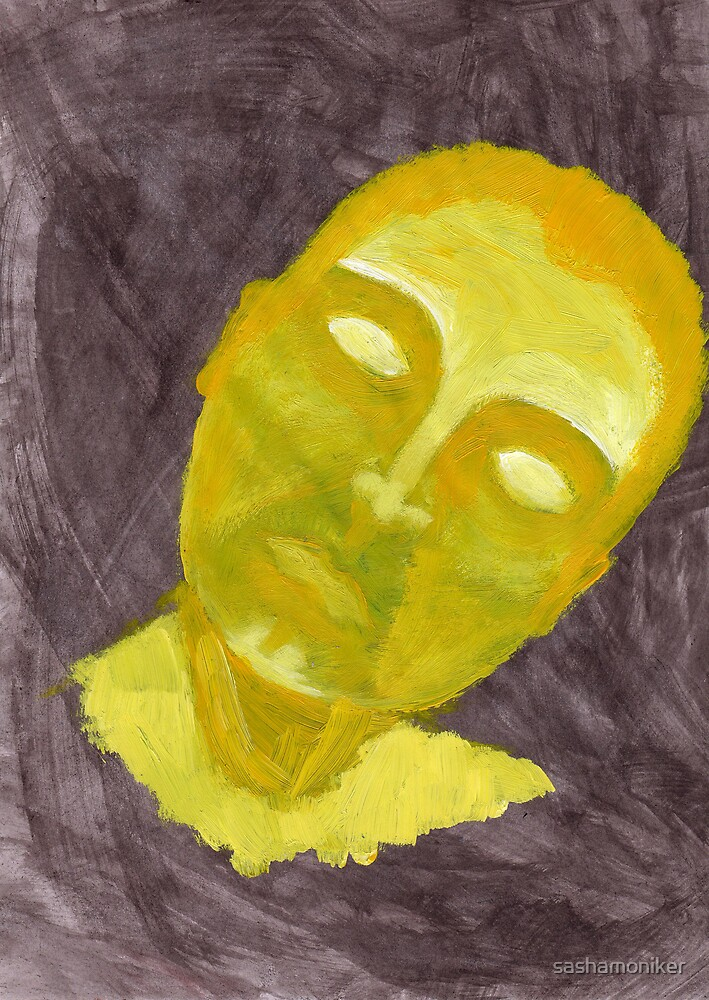 Head of gold by sashamoniker