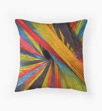 yarn 2 Throw Pillow