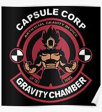 Capsule Corp - Vegeta Poster