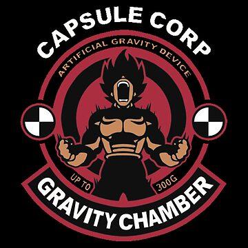 Capsule Corp - Vegeta by boyinkus