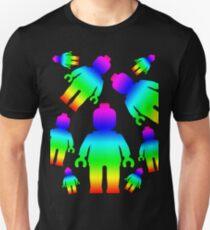 RAINBOW MINIFIGS Unisex T-Shirt
