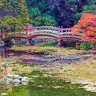 Autumn Bridge by Marilyn Cornwell