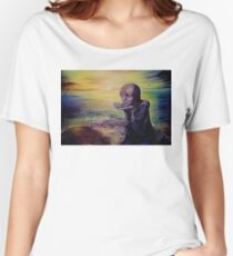 Moon Child on an Alien Planet Women's Relaxed Fit T-Shirt