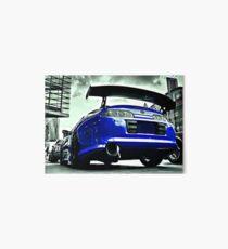 TOYOTA SUPRA Street car racer  Art Board