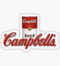 Soup Campbells Warhol 2 Sticker