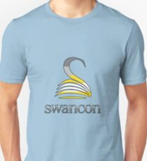Swancon logo - Demisexual Pride colours Unisex T-Shirt