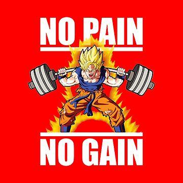 Goku No Pain No Gain by boyinkus
