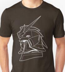 Gundam Shenlong Profile Outline White Unisex T-Shirt