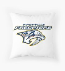 nashville predators Throw Pillow