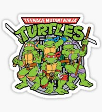 Teenage Mutant Ninja Turtles - 1987 Cartoon Sticker