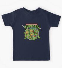 Teenage Mutant Ninja Turtles - 1987 Kids Tee
