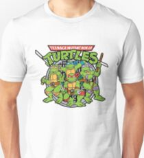 Teenage Mutant Ninja Turtles - 1987 Cartoon Unisex T-Shirt