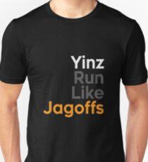 Yinz Run Like Jagoffs T-Shirt
