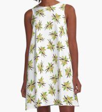vanilla flower A-Line Dress