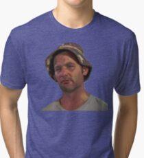 Carl Spackler -full shirt Tri-blend T-Shirt