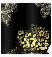 Flowers to Intoxicate Me Poster