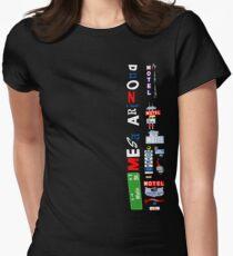 Main Street, Arizona Womens Fitted T-Shirt