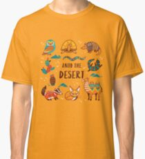 Desert animals Classic T-Shirt