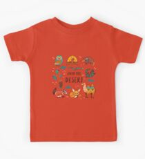 Desert animals Kids Tee