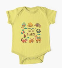 Desert animals One Piece - Short Sleeve