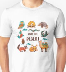 Desert animals Unisex T-Shirt