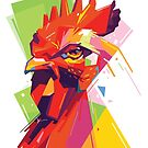 The Rooster WPAP by toni-agustian
