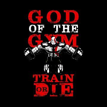 God Of The Gym Kratos by boyinkus