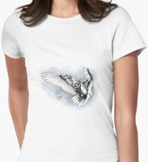 Lazer owl Women's Fitted T-Shirt