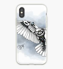 Lazer owl iPhone Case