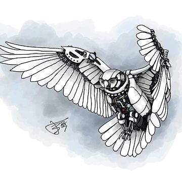 Lazer owl by vsca