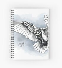 Lazer owl Spiral Notebook