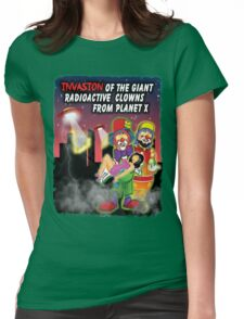Giant Radioactive Clowns Womens Fitted T-Shirt
