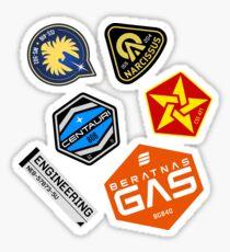 Amos Sticker Set Sticker