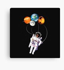 Space toys. Canvas Print
