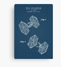 Tie Fighter Canvas Print