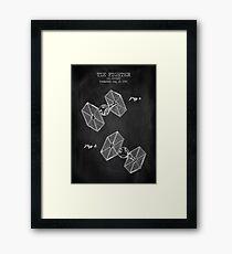 Tie Fighter Framed Print