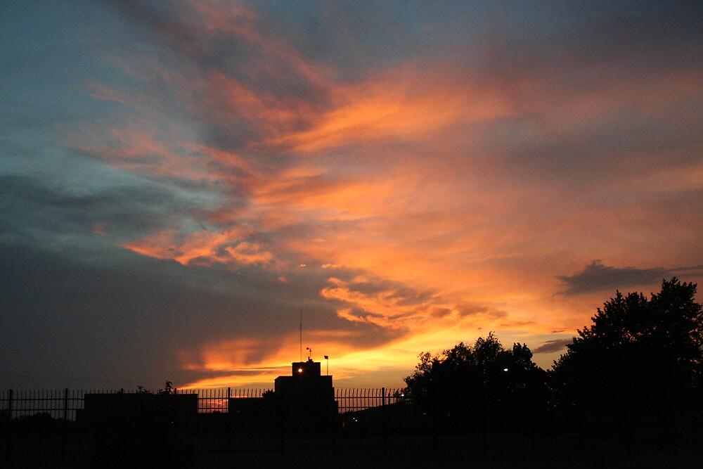 Kansas sunset by rexstardust