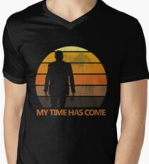 My Time Has Come Men's V-Neck T-Shirt