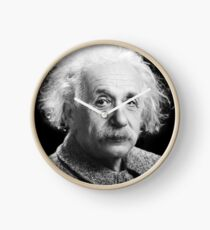 Albert Einstein Clock