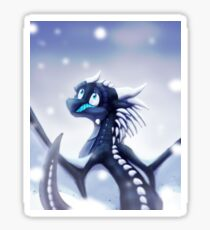 Wings of Fire - Whiteout Sticker
