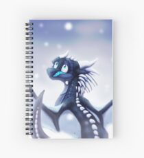 Wings of Fire - Whiteout Spiral Notebook