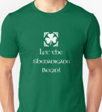 Irish Shenanigans St Patrick's Day Unisex T-Shirt