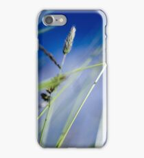 Green Grass and Blue Sky, Poland. iPhone Case/Skin