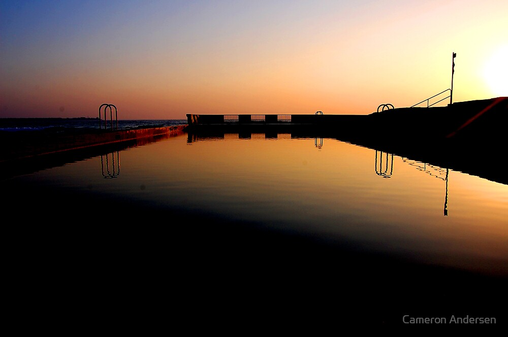 Main Beach Sunrise. by Cameron Andersen