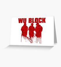 WU BLOCK Greeting Card