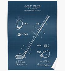 Golf Club Patent Poster